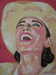 Face Art Cowgirl
