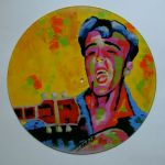 Rocker Elvis   Vinyl Record   250.00