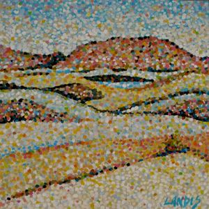 "Dunes    10 x 10"" Benefit Painting"